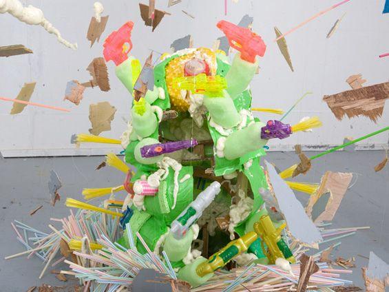 Yuko Oda installation
