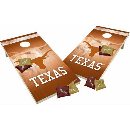 Wild Sports NCAA Tailgate Toss Cornhole Set Texas Longhorns