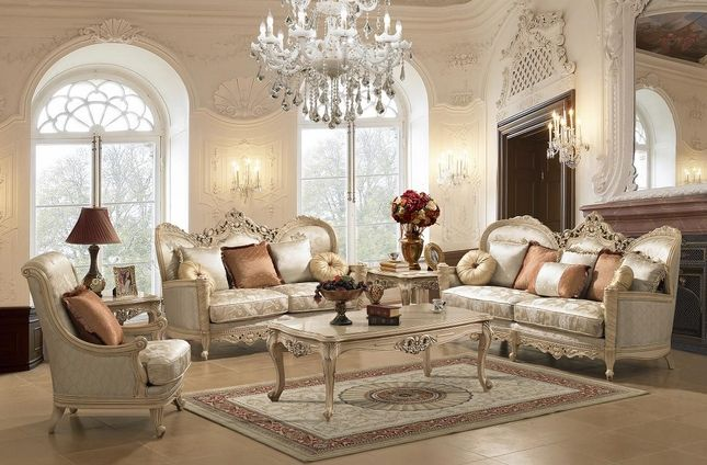Traditional Victorian Fabric Living Room Sethomey Design Hd91 New Homey Design Living Room Sets Design Decoration
