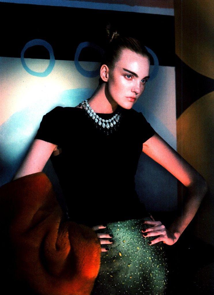 Caroline Trentini for Vogue US September 2014 by David Sims