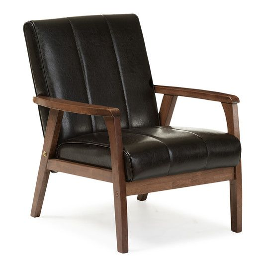 Sex the city aiden leather club chair