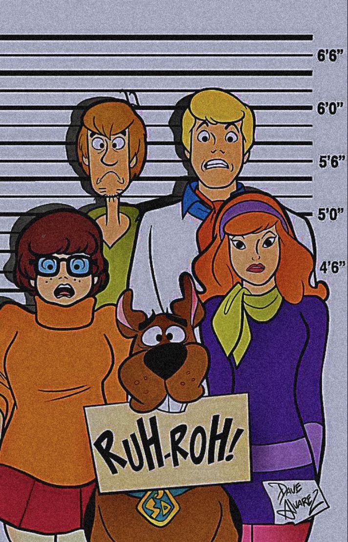 Best Scooby Doo Wallpaper Aesthetics Retro In 2020 Cartoon 400 x 300
