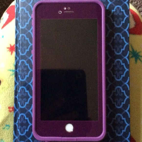 new arrival b0c19 1be21 New 6+ Lifeproof case in Crushed Purple Brand new Lifeproof case for ...