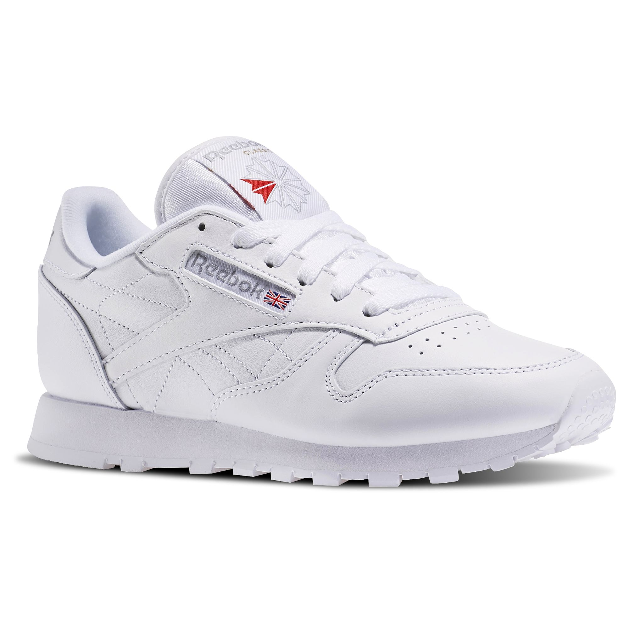 Reebok Shoes Women S Classic Leather In White Size 5 Lifestyle Shoes Classic Leather White Leather Shoes White Reebok