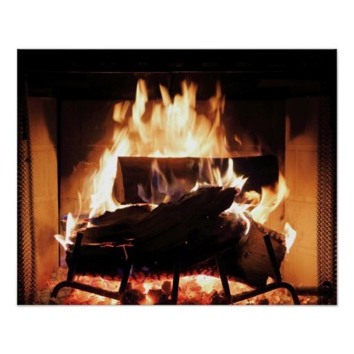 Fireplace Poster Zazzle Com Illustration Art Photography