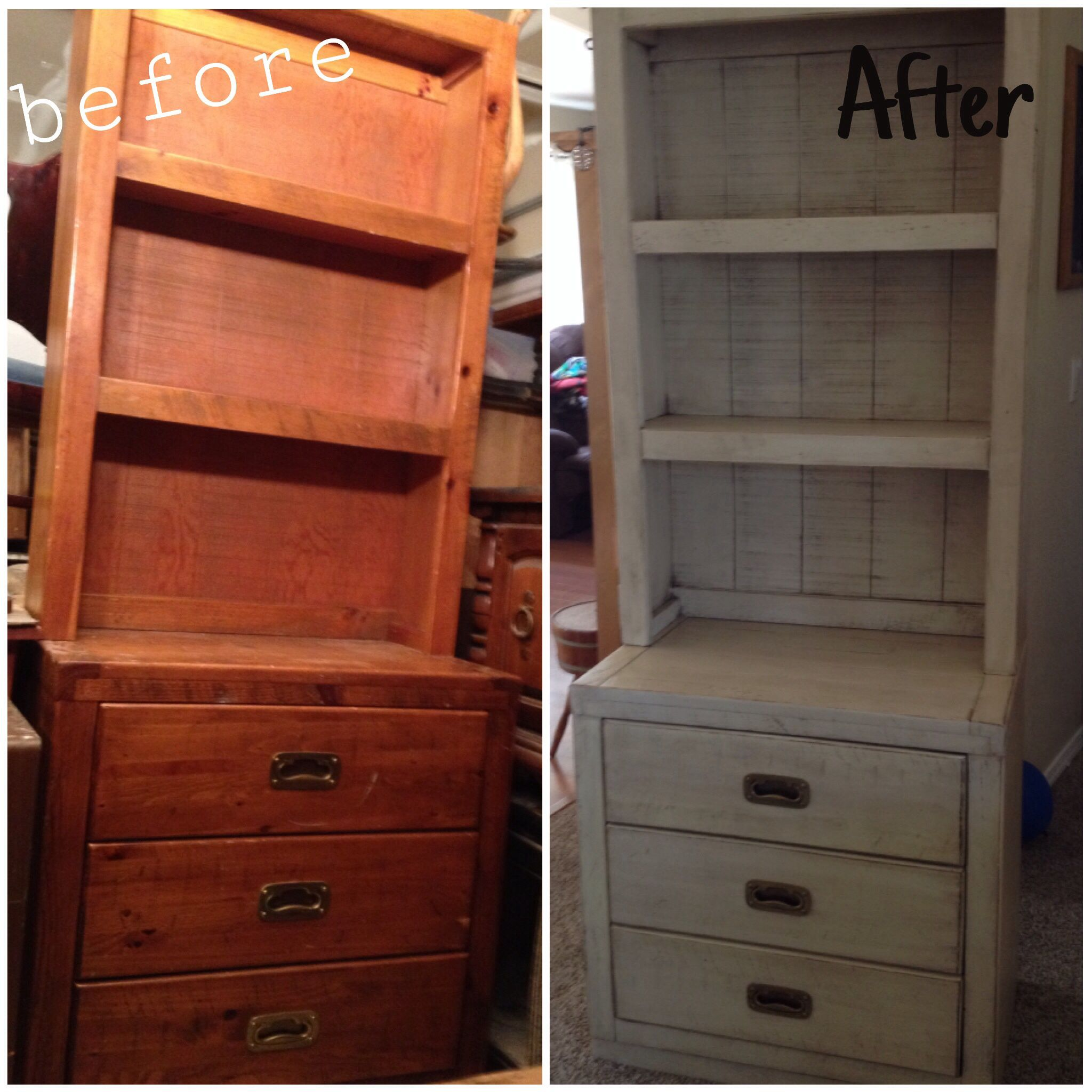 Gorgeous Young Hinkle Dresser Painted A Shabby Heirloom White W
