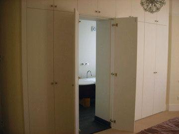 Ensuite bathoom interior master bedroom pinterest for Master bedroom cupboards