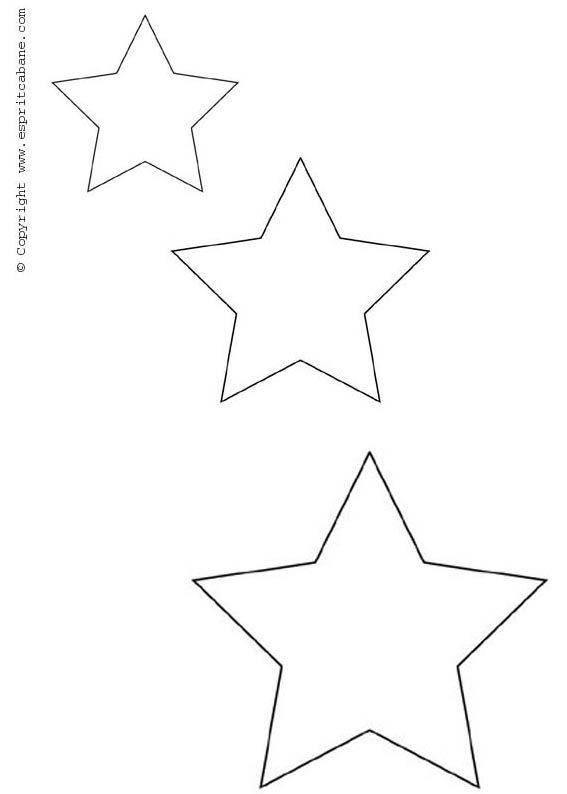 Motif Etoile Jpg 567 794 Pochoirs Gratuits Etoile A Imprimer Coloriage Coeur