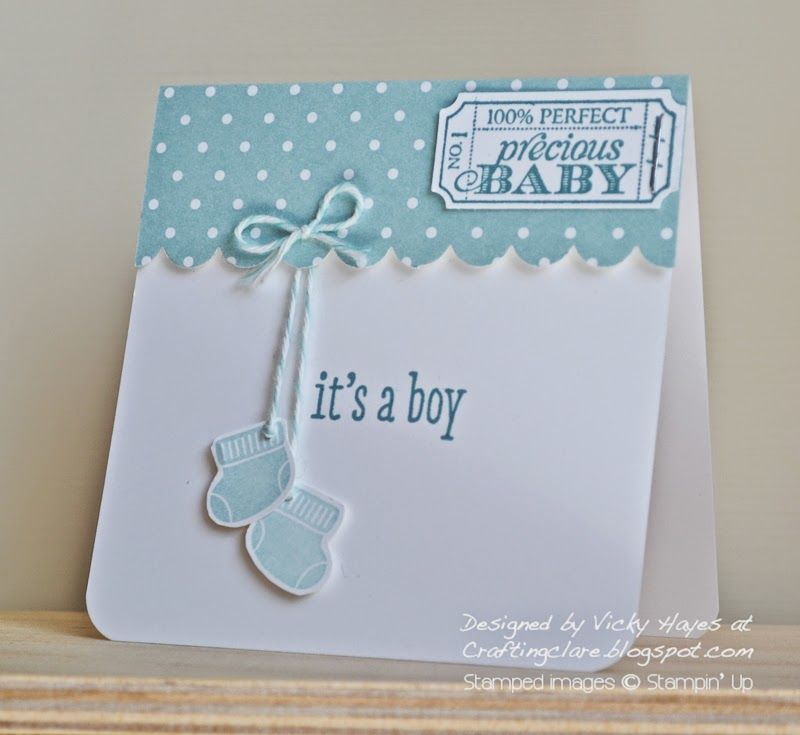 It/'s a Boy Blue Baby Boy Card Baby Boy Card Baby Shower Boy Baby Shower Card Homemade Cards Handmade Cards Homemade Card Handmade Card Baby