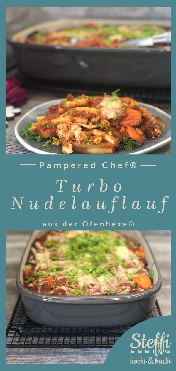 Turbo Nudelauflauf aus der Ofenhexe® von Pampered Chef®