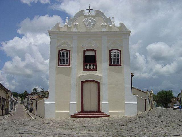 Igreja em Goiás-GO- Brasil Foto: Idalécio Santos