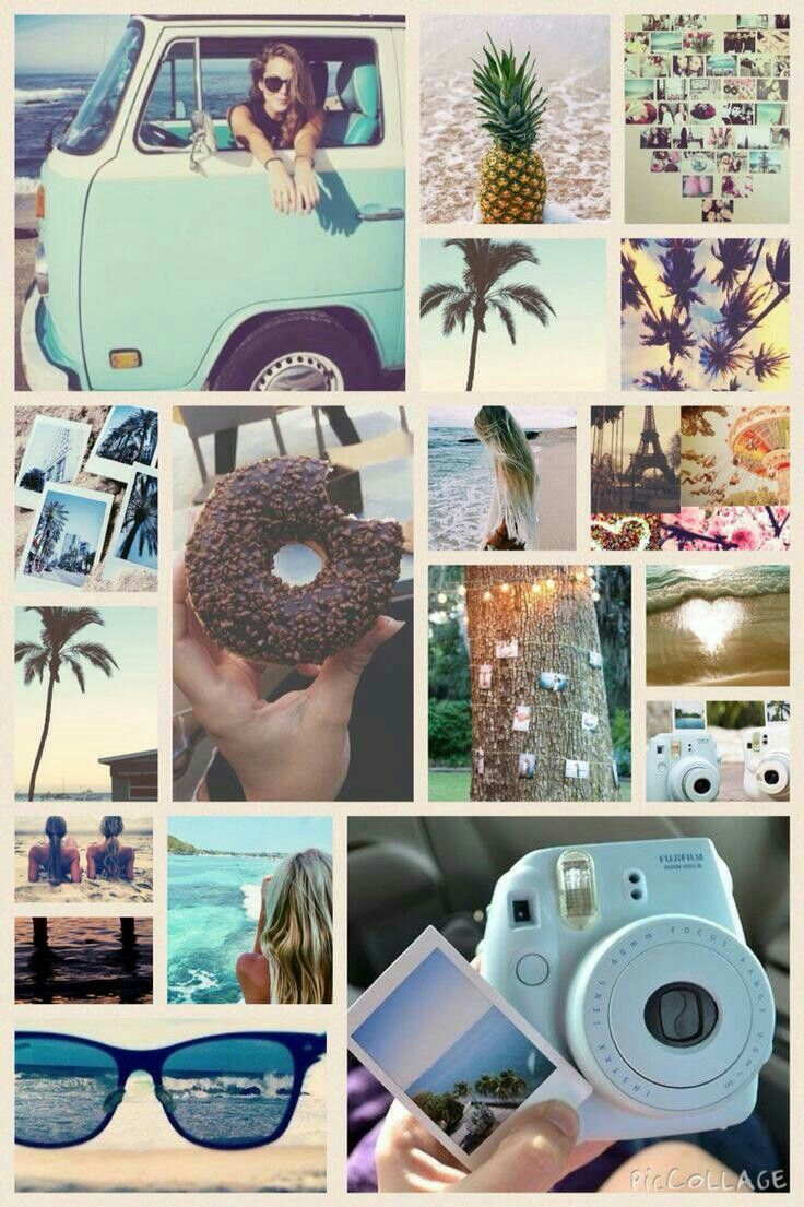 Summer Aesthetic collage Sea Wallpaper, Summer Wallpaper, Wallpaper Quotes, Wallpaper Backgrounds, Iphone