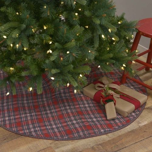 Anderson Plaid Tree Skirt 48