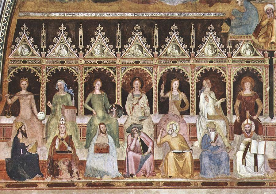 Andrea_di_bonaiuto,_Triumph+of+St+Thomas+and+Allegory+of+the+Sciences+det+1365+68.jpg 900×633 pixels