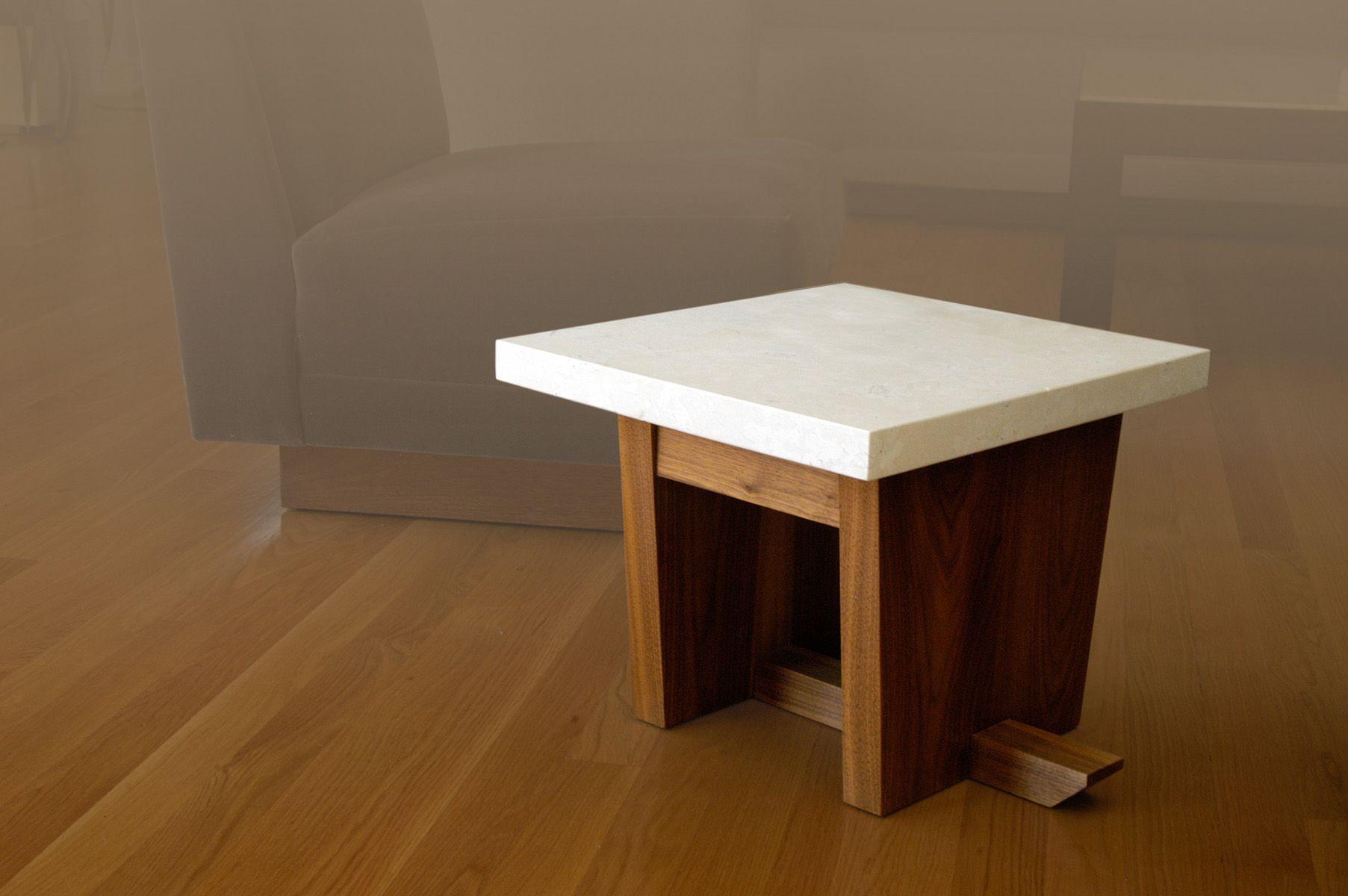 Grace Concrete End Table By Seventh & 7Th Designs