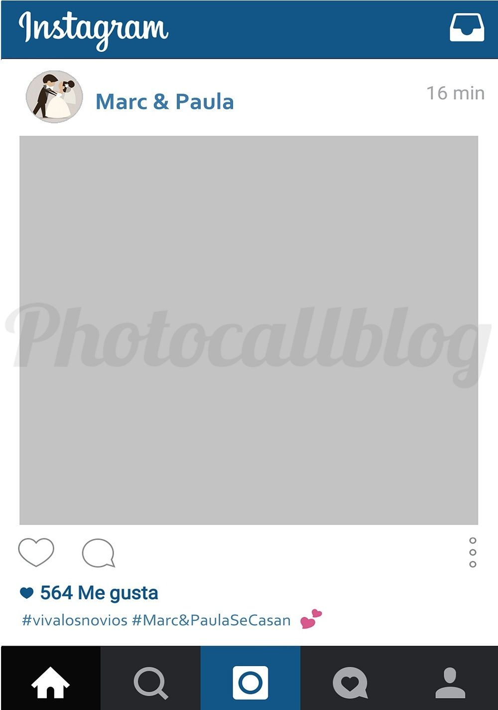 PHOTOCALL MARCO INSTAGRAM PERSONALIZADO | Pinterest | Instagram ...