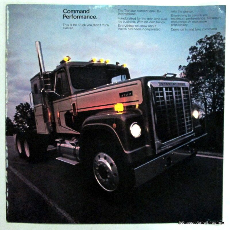 IH International 1973 4300 Truck Sales Brochure | International ...