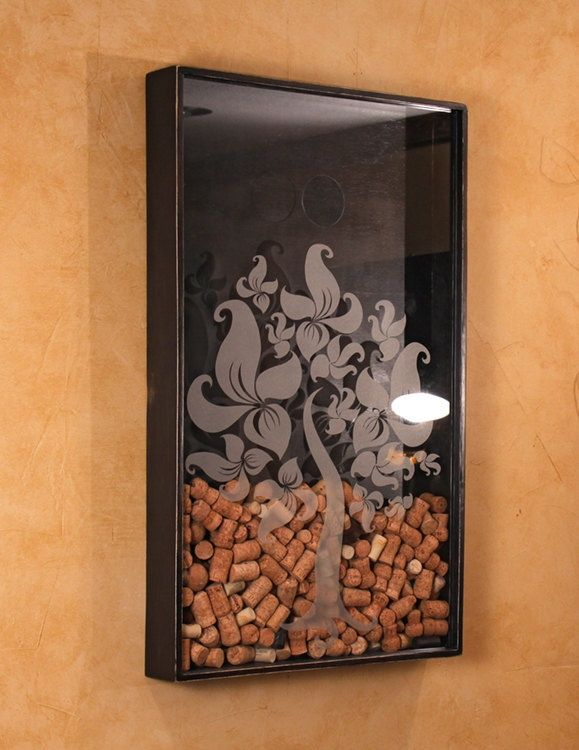 Wine Cork Decor Wall Holder Awesome Ideas