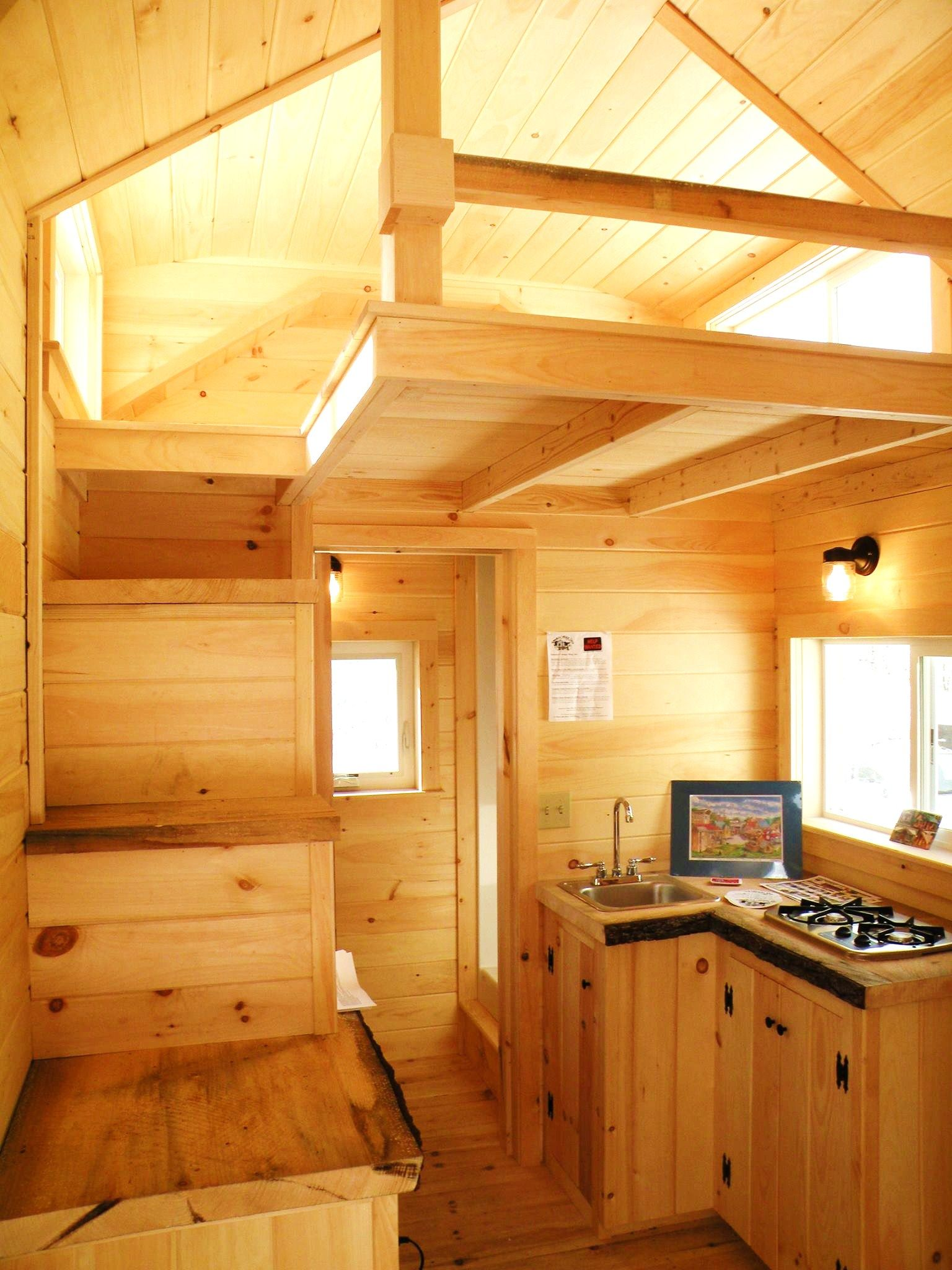 16 Tiny House Interior Design Ideas: Jamaica Cottage Shops Newest Design. 8' X 16' Tiny House
