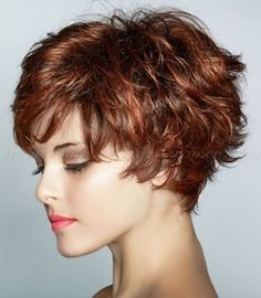 Short Wavy Hairstyles For Women Short Hair Trends Short Hair Styles Thin Hair Haircuts