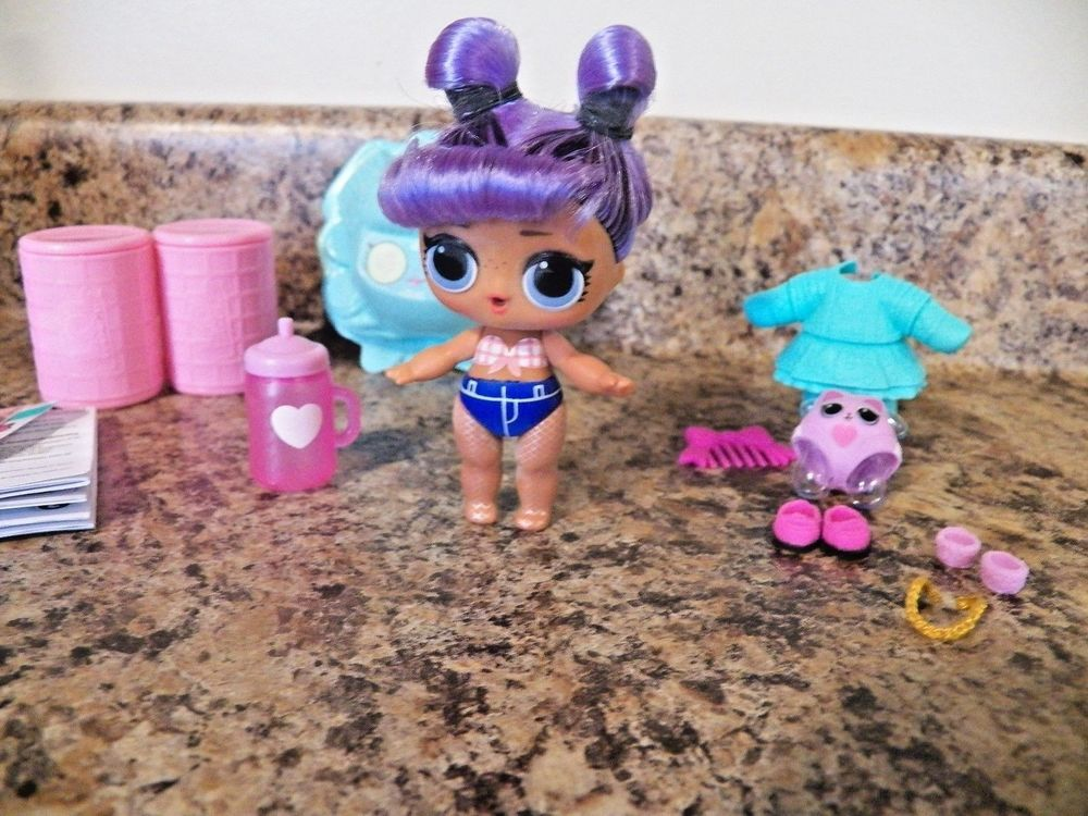1 2 3 4 5 LOL Surprise Hairgoals MAKEOVER SERIES Big Doll New AUTHENTIC MGA