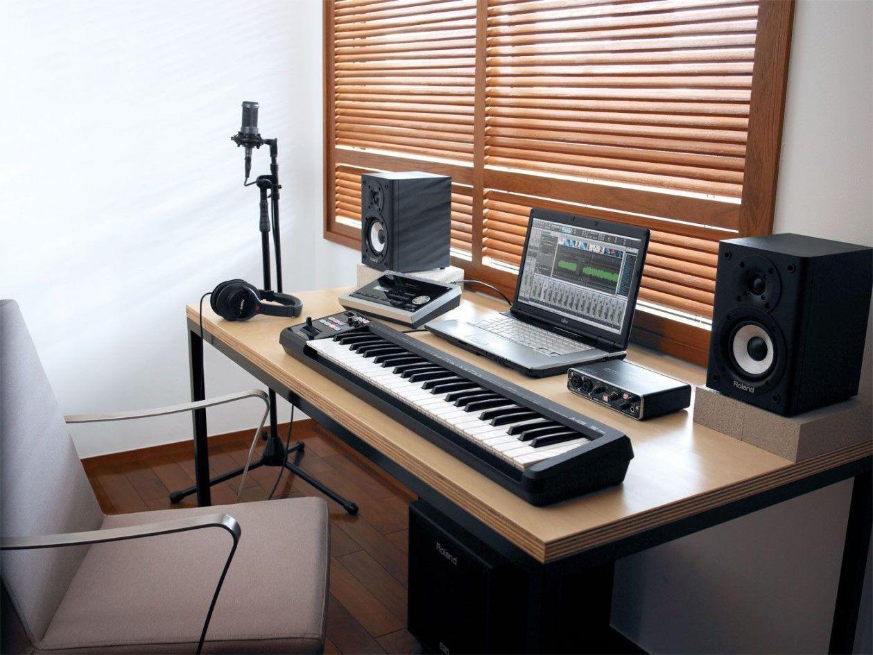 10 Magnificent Minimalist Home Studio Ideas : Exhilarating