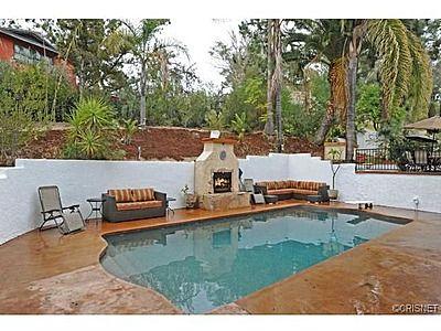 Spanish Pool 22457 Domingo Rd Woodland Hills Ca 91364