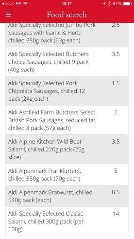 aldi sausages slimming world treats slimming world dinners slimming world syns aldi sausages slimming world treats