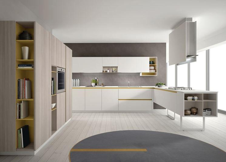 Sono tanti i nuovi colori laccati proposti da stosa cucine per il ...