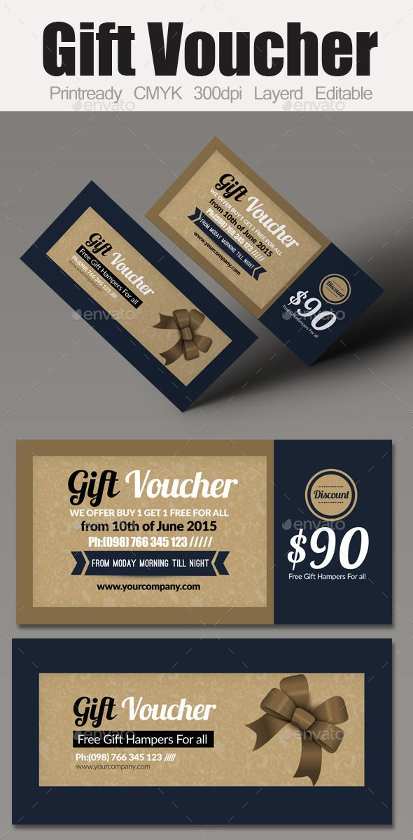 Multi Use Business Gift Voucher Gift vouchers, Business and Gift - design gift vouchers free