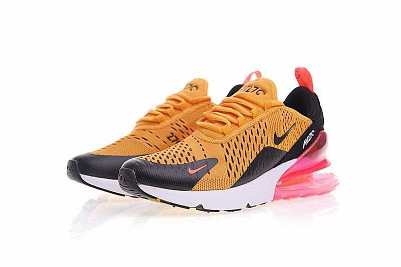 brand new 696f0 198e1 Nike Air Max 270 Pink Yelolow AH8050 706