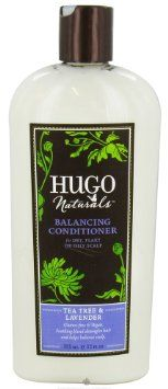 Hugo Naturals Balancing Conditioner, Tea Tree and Lavender, 12 Ounce