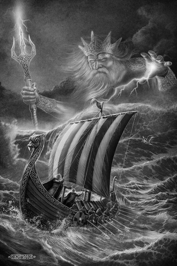 Image Result For Full Back Viking Ship Tattoo Viking Tatueringar Tatueringsideer Bilder