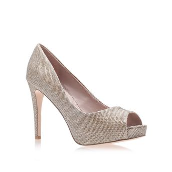Lara Gold High Heel Court Shoes from Carvela Kurt Geiger · Women Shoes Heels Woman ...