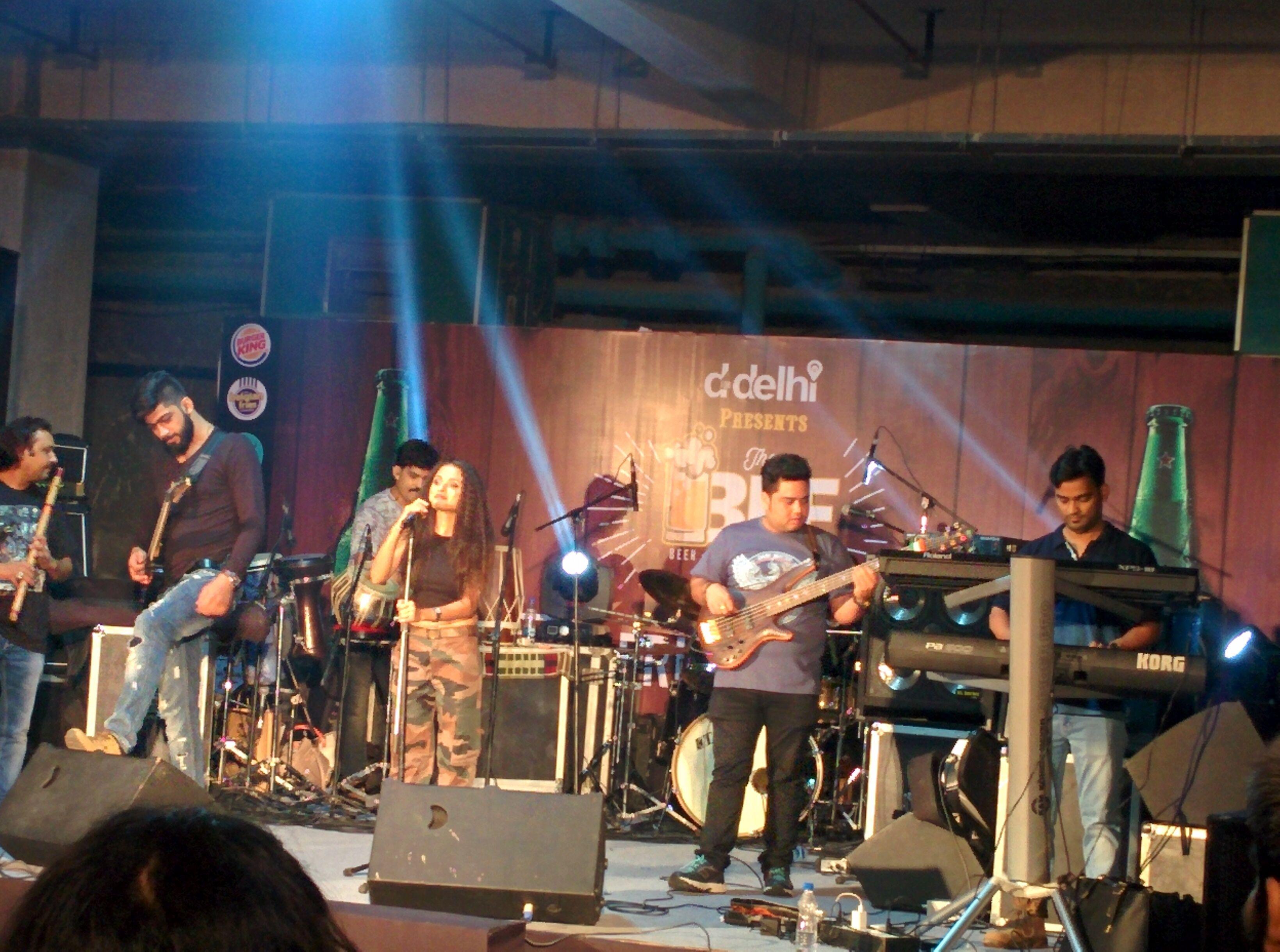 Another rocking show by localturnon band rocknaama