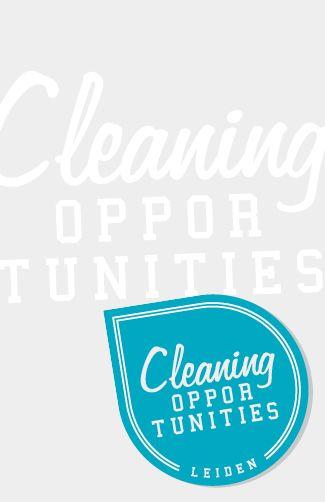 VORMGEVING CLEANING OPPERTUNITIES VISITEKAARTJE ACHTERKANT