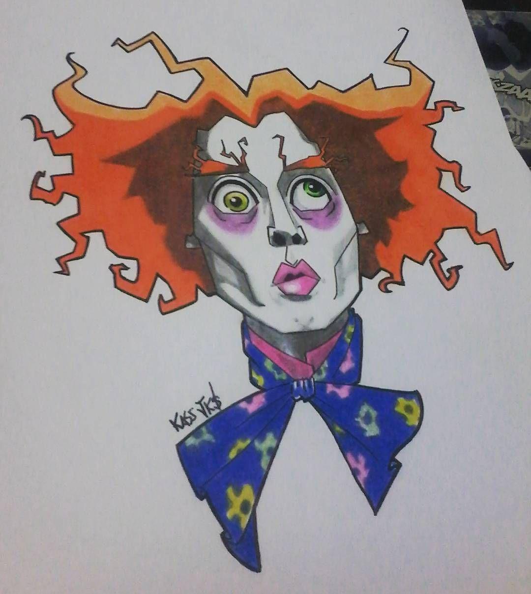 Title Com Imagens Desenho Chapeleiro Maluco Palhaco Desenho