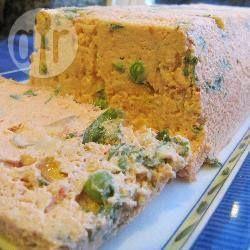 Terrine de saumon aux petits pois @ allrecipes.fr