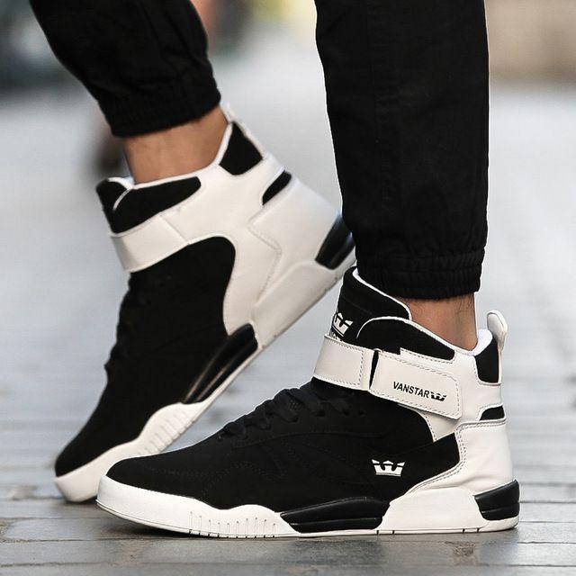 Men Shoes Luxury Mens High Top shoe Men walking Casual Air Shoes danc men  Winter Boots