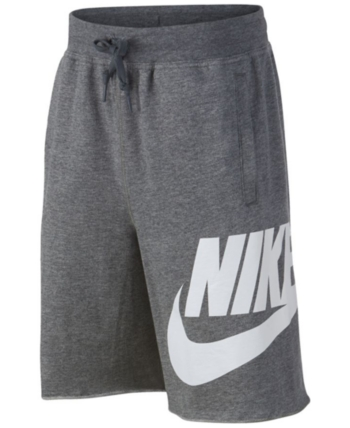 8609445749a Nike Big Boys Sportswear Cotton Shorts - Gray M (10/12) | Products ...