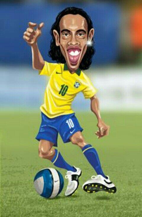Ronaldinho Of Brazil Wallpaper Football Football