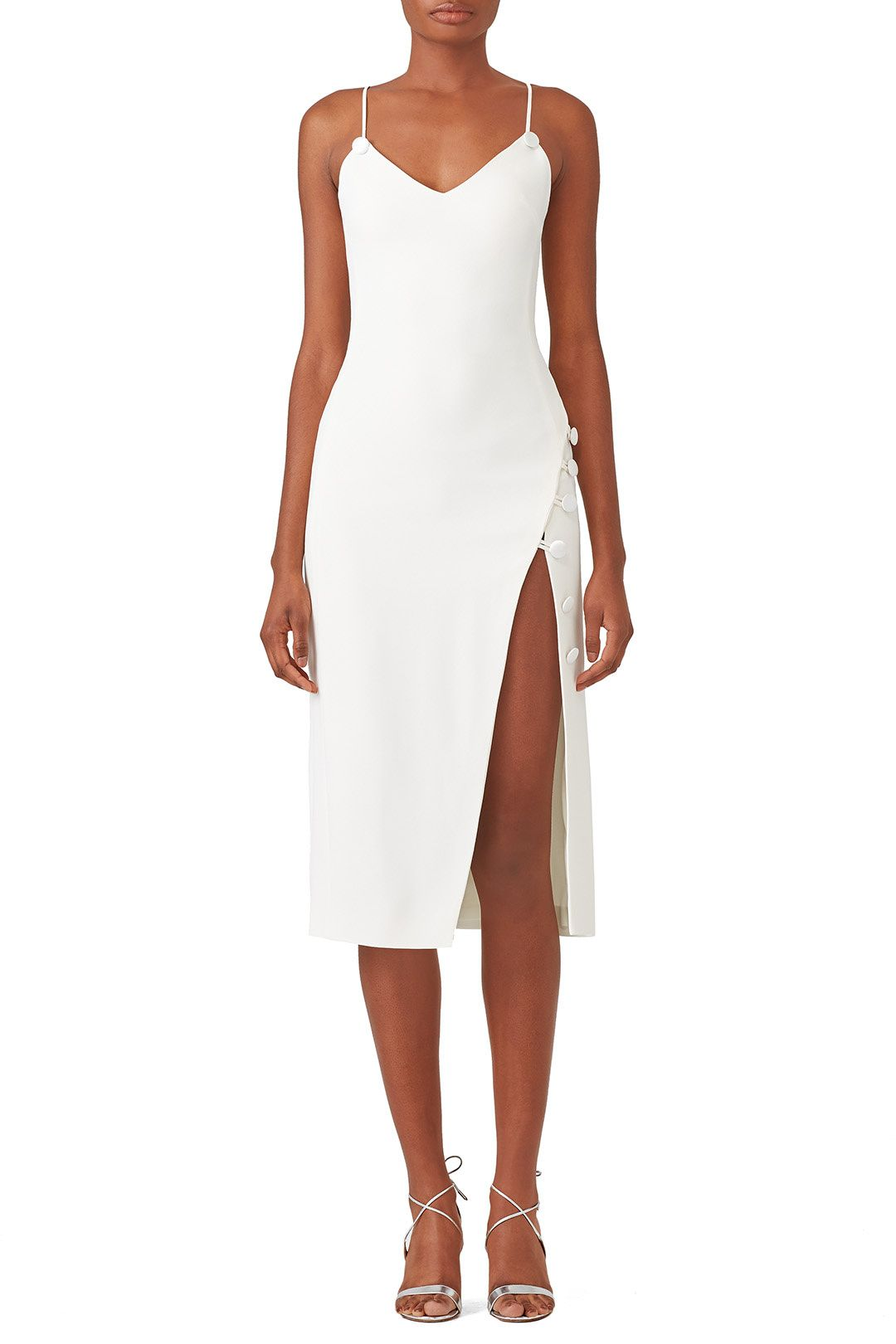 38539af77e0 Rent Side Split Midi Dress by David Koma for  190 only at Rent the Runway.