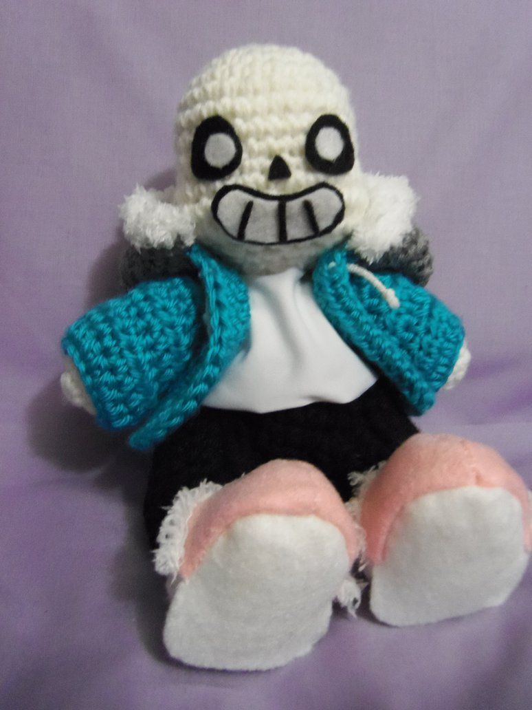 Here it is my amigurumi sans hes about the same size as my here it is my amigurumi sans hes about the same size as my splatoon jellyfish bankloansurffo Choice Image