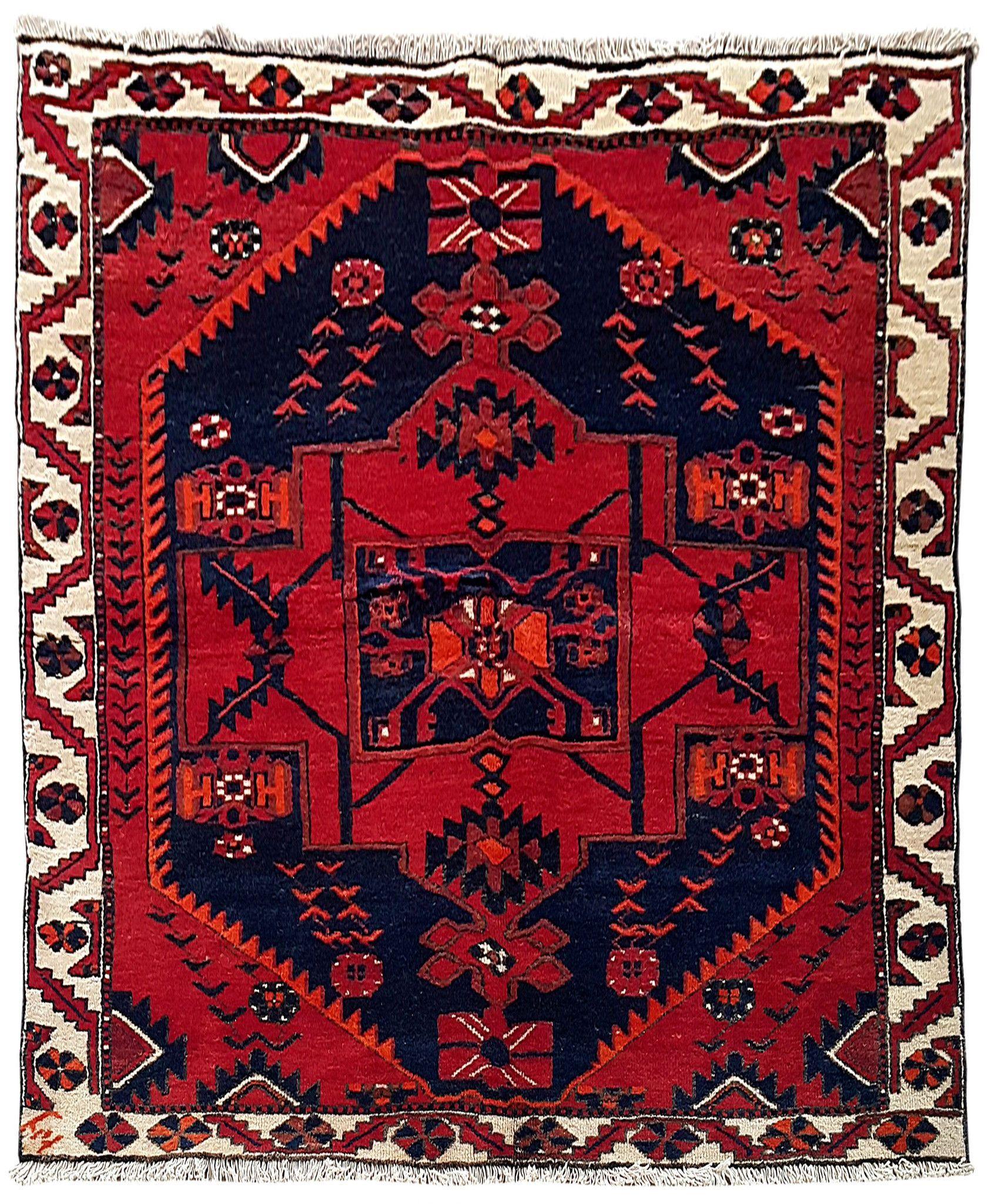 Rugs Online Handmade Rug 5x7 Persian Bakhtiari Carpet