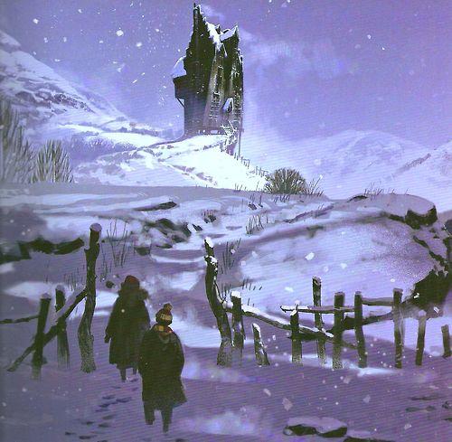 Shrieking Shack Concept Art Harry Potter Artwork Harry Potter Fan Art Harry Potter Crossover