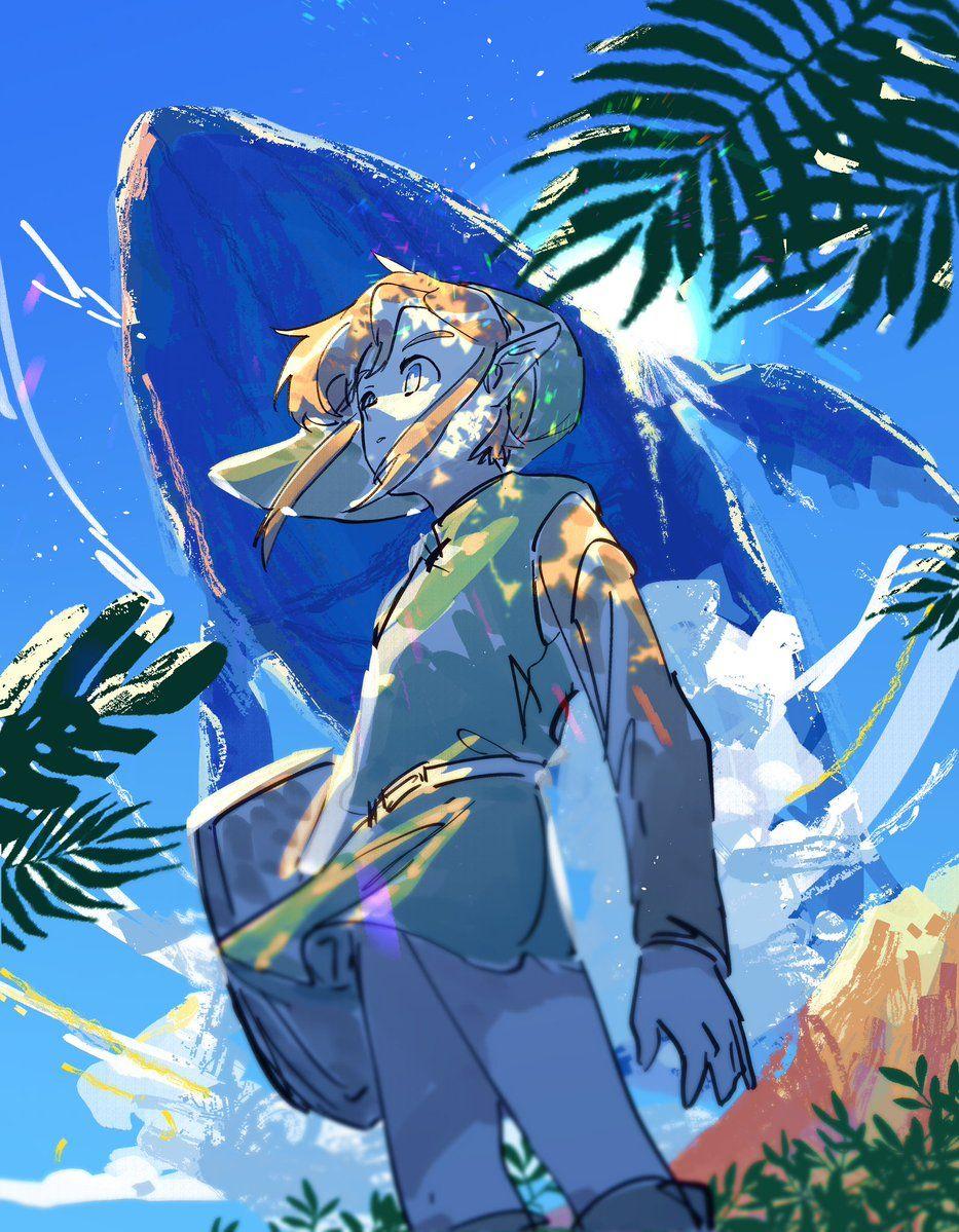 Link S Awakening Fanart Zelda Art Legend Of Zelda Breath Awakening Art