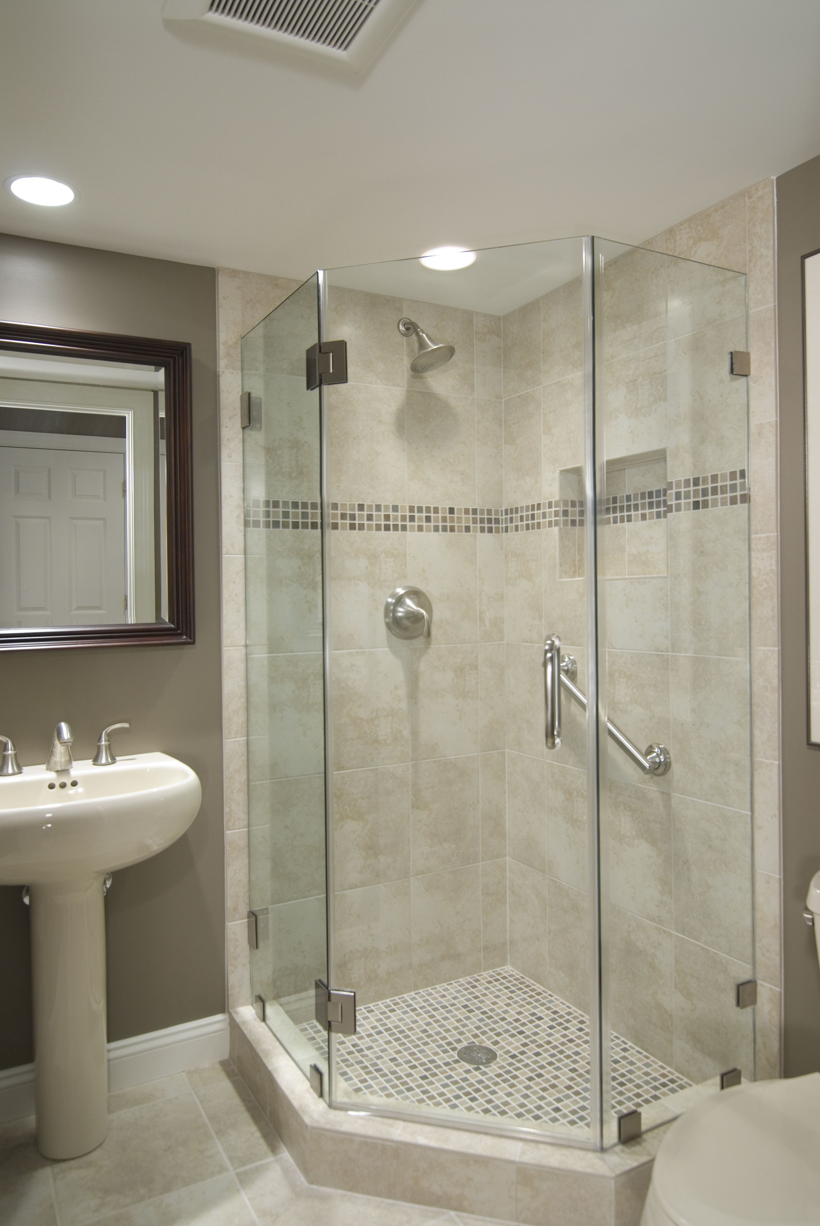 Beautifully Remodeled Bathroom In Reston Va Bathroom Shower