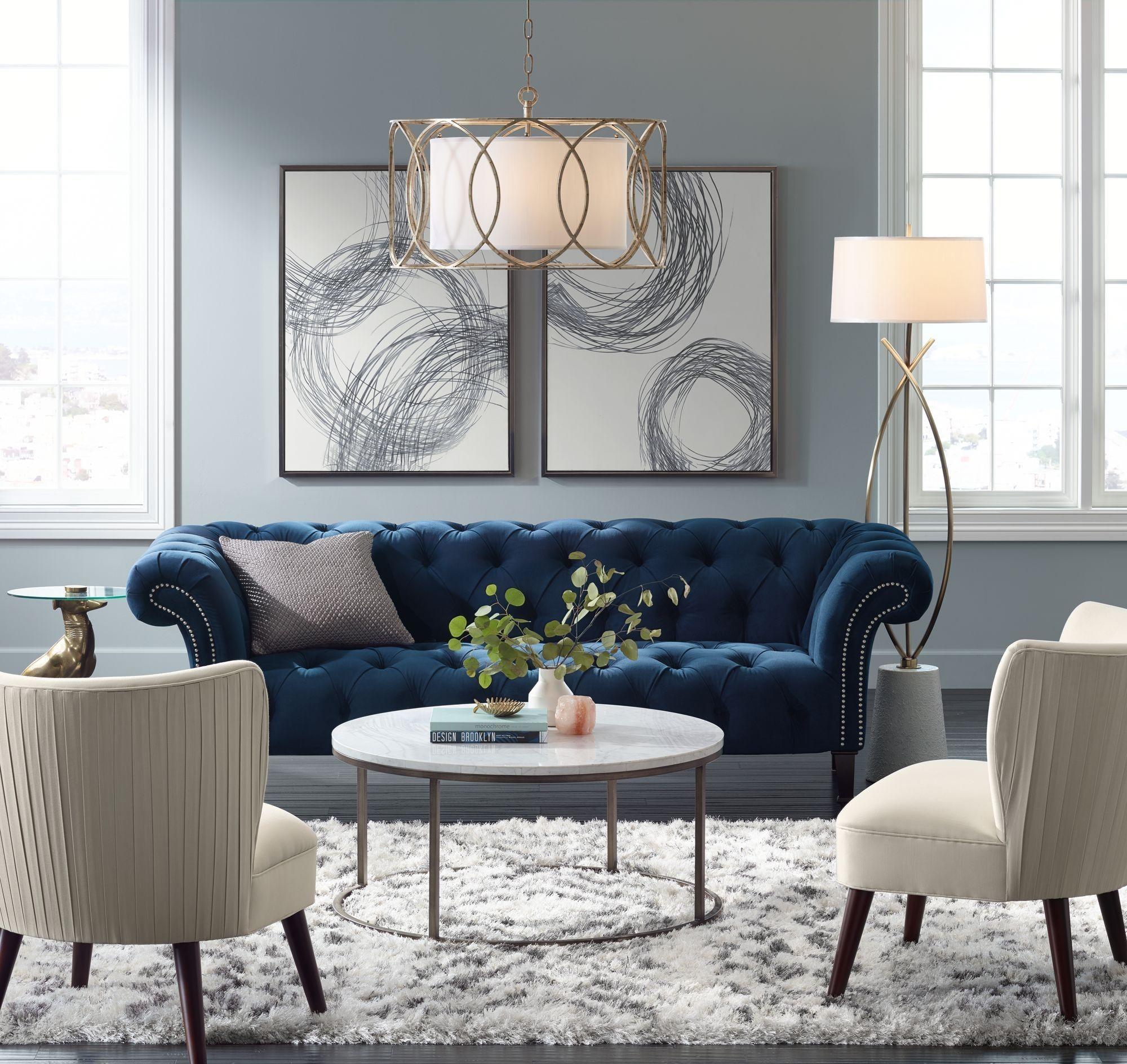 So Creative Living Room Ideas Homeideas Livingroom Livingspace Blue Sofas Living Room Blue Couch Living Room Living Room Decor Apartment