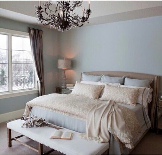dusty blue bedroom paint bedrooms pinterest