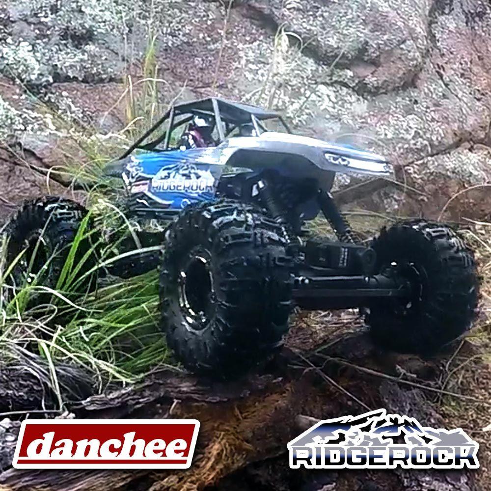 Redcat Racing Danchee Ridgerock 1//10 Crawler Chassis Shocks Axles Motor